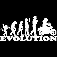 Evolution Moped Mofafahrer Mofa Geschenk idee