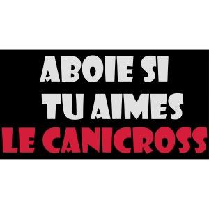 aboie canicross