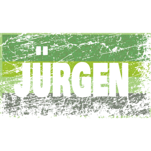 Vintage JUeRGEN Style Name