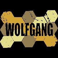 Style Artwork Vintage Wolfgang
