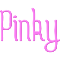 Pinky in Pink als Girlie Grils Mädel Geschenkidee