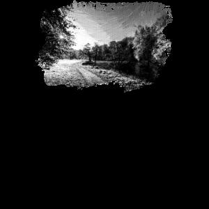 Yorkshire Fluss Herbst digitales Ölgemälde sw