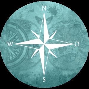 Kompass Himmelsrichtung