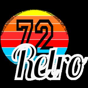 Retro Design 70er Jahre