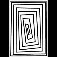 Spirale Eckig