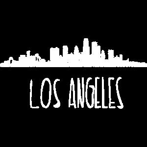 Los Angeles Kalifornien USA Skyline Geschenk