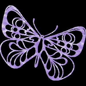 Schmetterling Lila Geschenk Frauen Kinder Falter