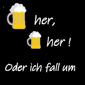 Bier her