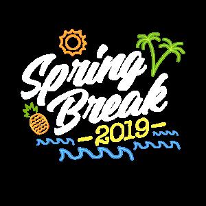 Spring Break, Frühjahrsurlaub, Frühjahrsferien