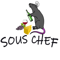 Sous Chef , Koch , Ratte mit Humor
