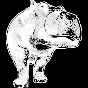Nilpferd Flusspferd