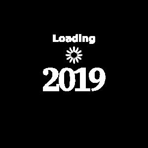Silvester 2019 Loading Nerd T-Shirt
