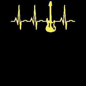 Bass Guitar Heartbeat Bassgitarre Bass Bassist