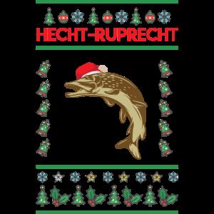 Weihnachtsfisch Shirt · Festlich · Angler Geschenk