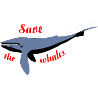 Rettet die Wale / Save the whales