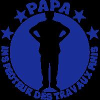 Dad Inspektor Arbeit beendet man logo