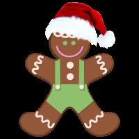 Weihnachts-Cookiman