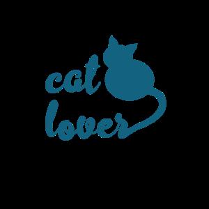 Katzenliebhaber - Blaugrün