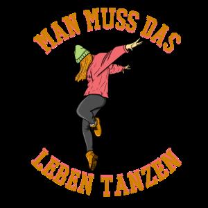 Tanzen Tänzer Breakdance Hip Hop Dance Geschenk