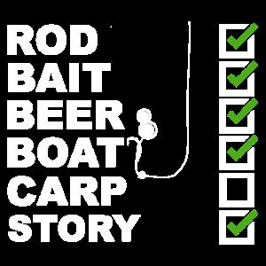 Fishing Shirt Carp boili