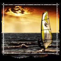 12 windsurfer sunset