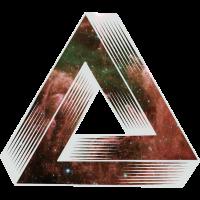 Cosmic unmögliches Dreieck