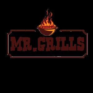 Lustiges BBQ Grill Mr. Grills Geschenk für Männer