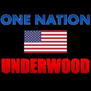 One Nation Underwood USA Frank HOS Geschenk