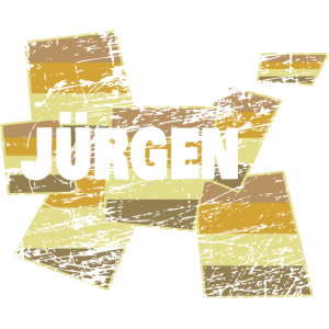 Name Comic JUeRGEN Vintage Style