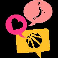 Basketball Dunk love bubble bubble 1