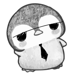 baby pinguin sonnenbrille kravatte geschenk