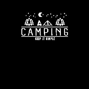 Camping Keep It Simple I Camper Zelten