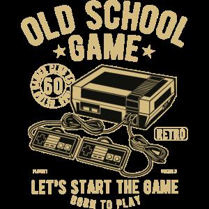 Old School Game - Gold - Retrogames