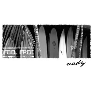 FEEL FREE ready for surfing surfboards
