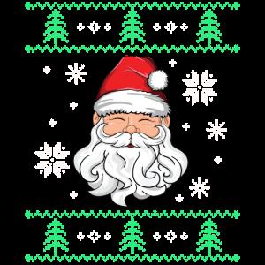 Hässliches Weihnachtssankt-shirt Kinderfest-Weihnachten