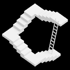 Treppe Fehlkonstruktion