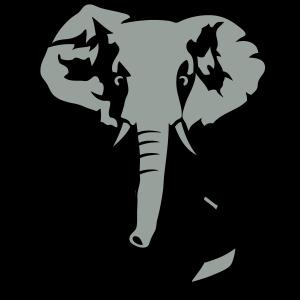 Elefanten Anzug und Krawatte Geschäfts