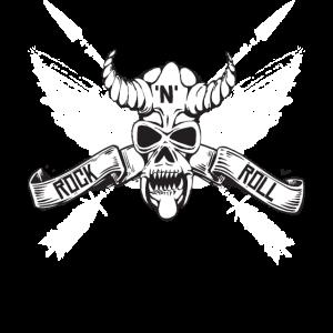 Hard Rock Flügel Pfeile Rock n Roll Geschenk