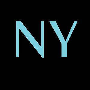 New York - USA - Blau