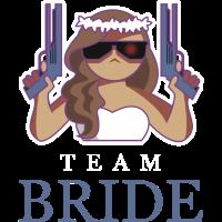 Bride security team