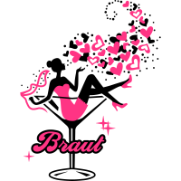 Braut - Bride - Team - JGA - Cocktail - Herz - 2C