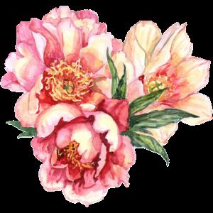 Vintage Blumen Motiv, Floral, Blumen Design