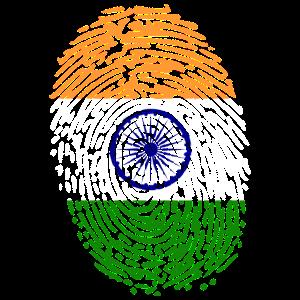 Fingerabdruck Indien