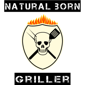 natural born griller, totenkopf, Feuer, Grill, bbq