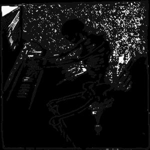 lustig, Skelett spielt Klavier keep practicing...