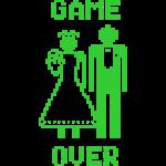 Game Oover Old Skool groen