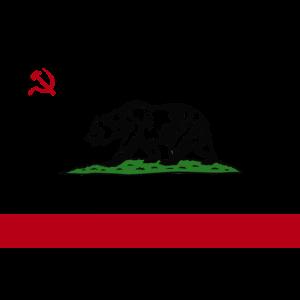 """""""REPUBLIK KALIFORNIEN"""" RUSSISCHER CYRILLIC"""