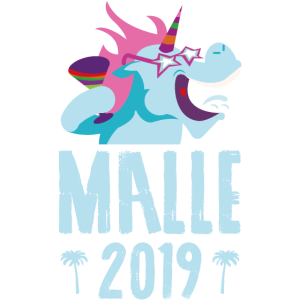 Einhorn party malle 2019