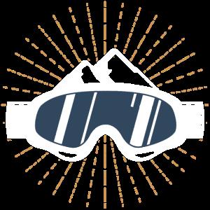 Wintersport Ski Snowboard brille