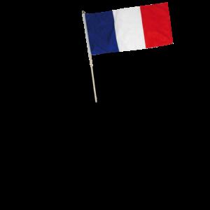 Gast FR EU ndlich mit Flagge